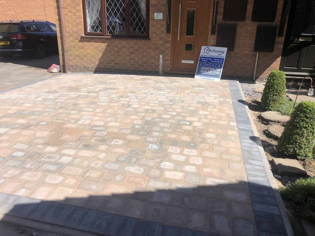 sorrento paving Loughborough