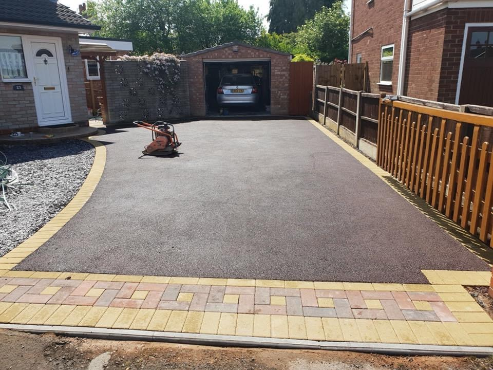 Tarmac driveway completed in Coalville