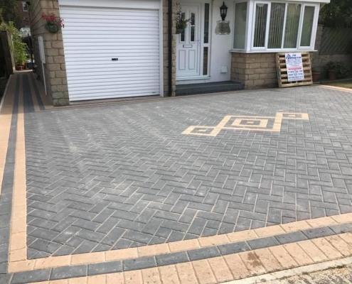 diamond patio driveway
