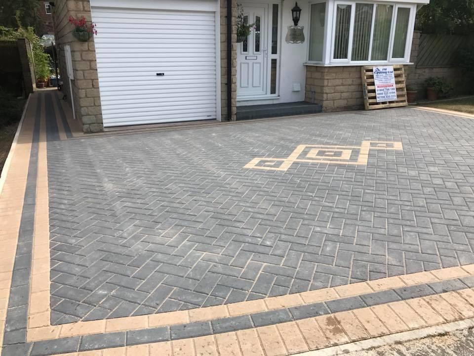 diamond block paving