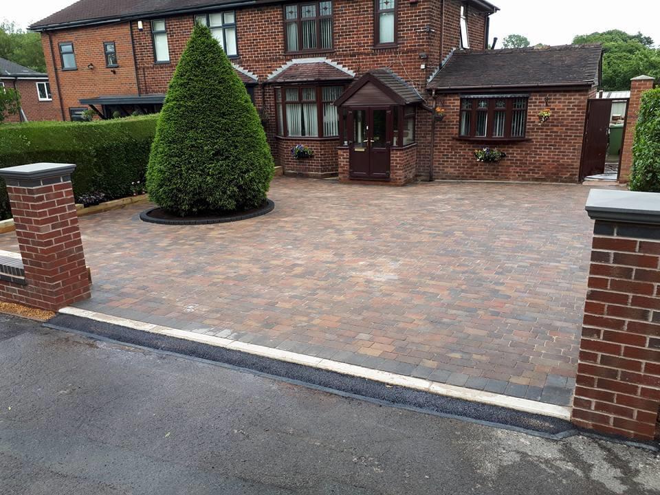 block paving driveway Lichfield