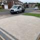 contemporary block pave
